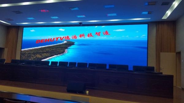 郑州金河酒店宴会厅LED显示屏